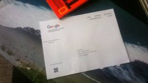 Google Courrier Validation
