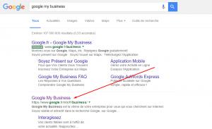 4 Recherche Google Etablissement Guidap