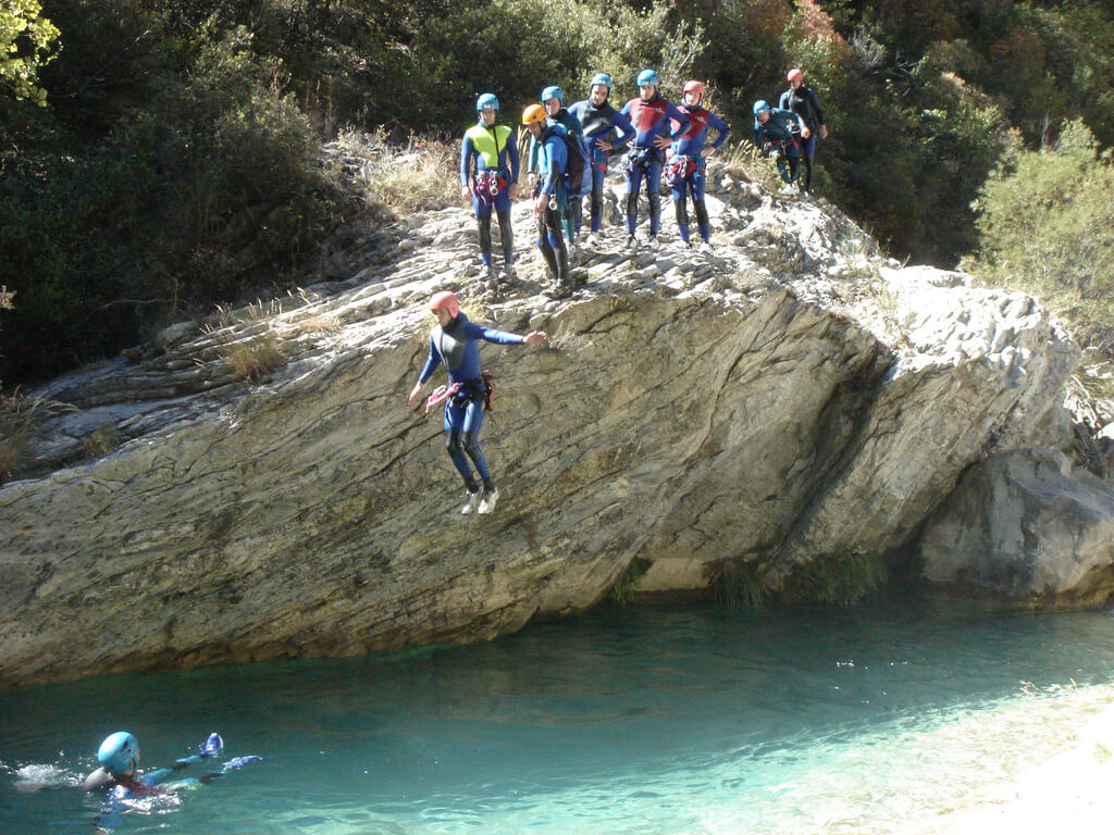 Guidap solution pour les canyoning