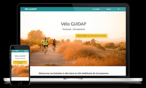 Site web thème Modern GUIDAP